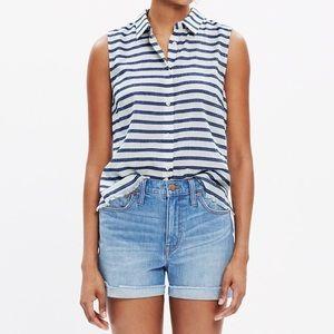 Madewell | 'Moment' Striped Sleeveless Shirt